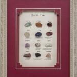 תמונת אבני החושן עברית